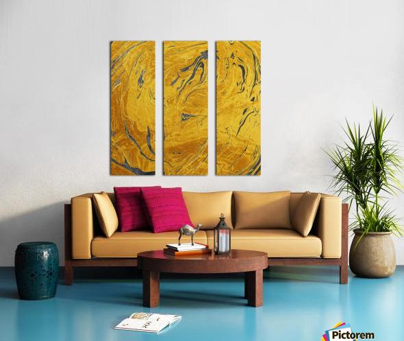 Abstract Marble XXX Split Canvas print