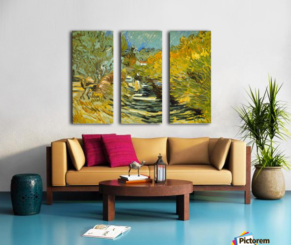 Saint-Remy by Van Gogh Split Canvas print