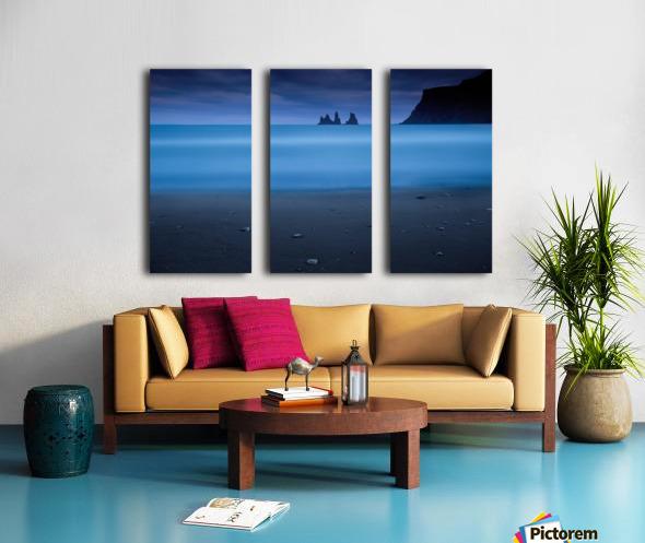 Blue night 2 Split Canvas print