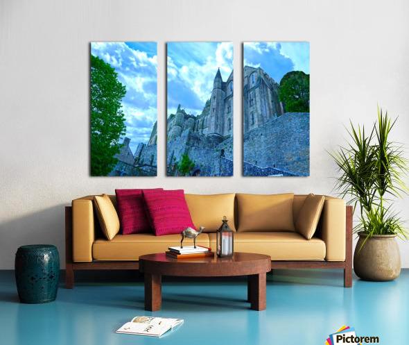 A Day at Mont Saint Michel 9 of 12 Split Canvas print