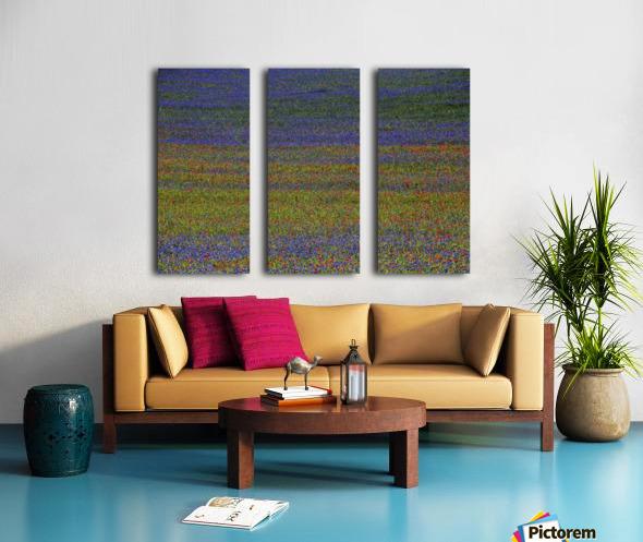 get lost Split Canvas print