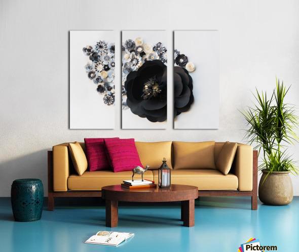 Daltana Spring Jarill Split Canvas print
