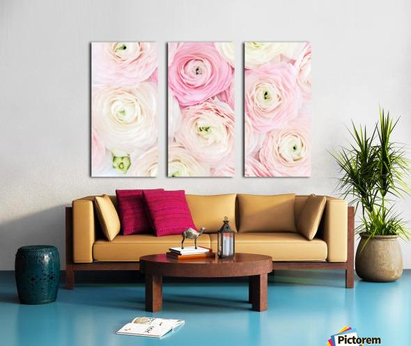 Daltana Spring Erill Split Canvas print