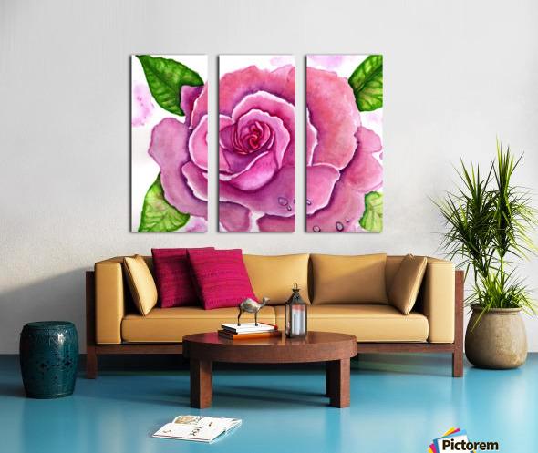 Magnificent Rose Split Canvas print