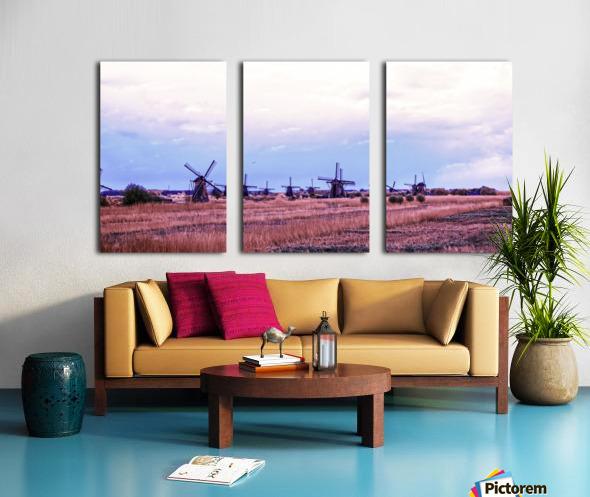 Wonderful Windmills Split Canvas print