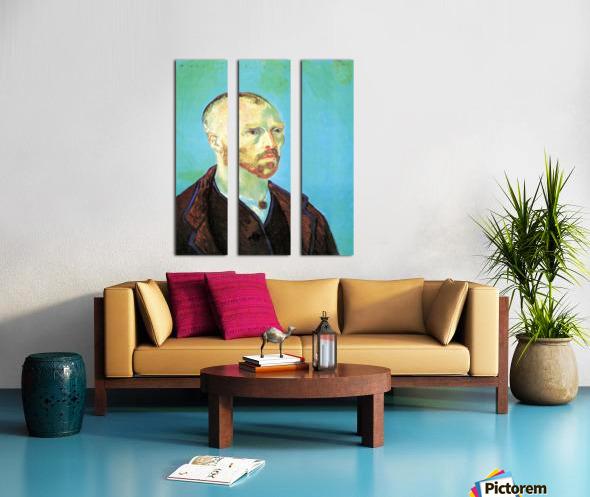 Self-Portrait Dedicated to Paul Gauguin Split Canvas print