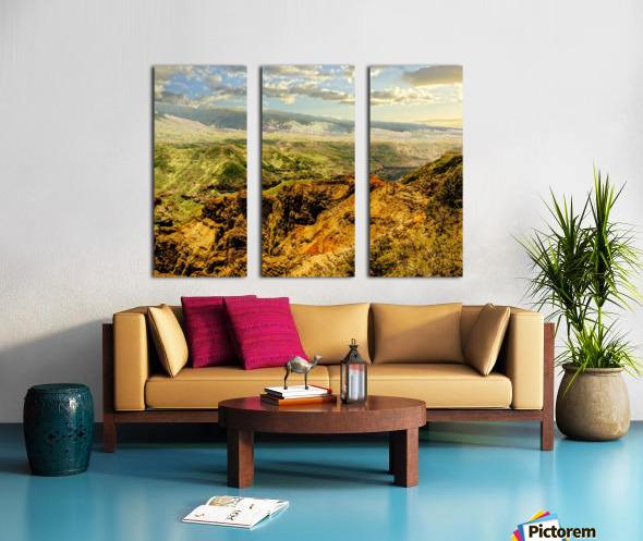 Untamed Kauai 3 of 5 Split Canvas print