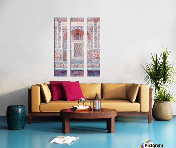 Rajasthan Architecture Split Canvas print