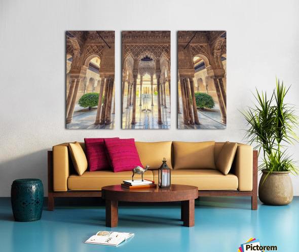 Alhambra Split Canvas print