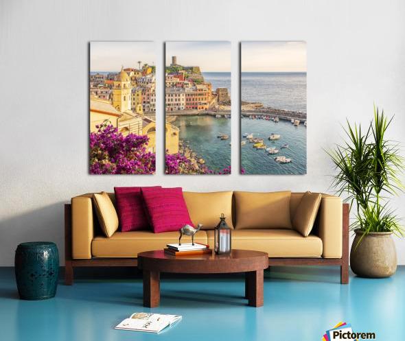 Vernazza Split Canvas print