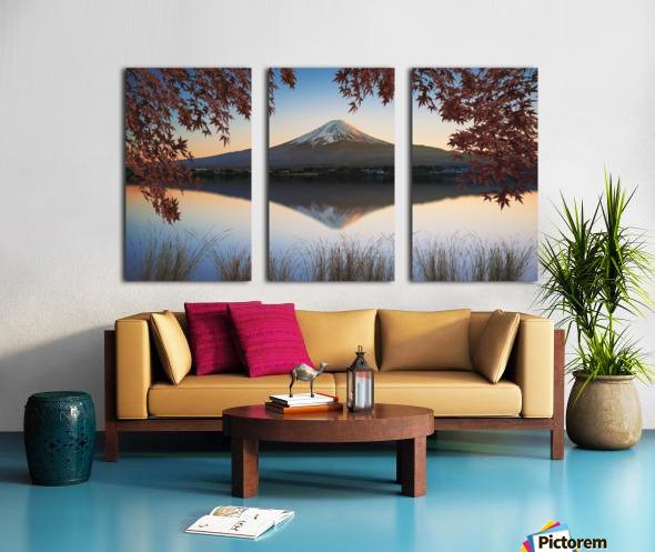 Mount Fuji Split Canvas print