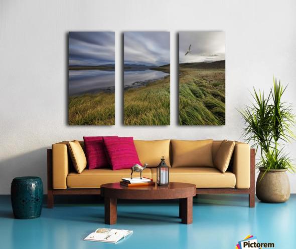 Stillness by Bragi Ingibergsson - Split Canvas print
