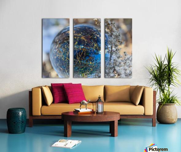 Feuillage Split Canvas print