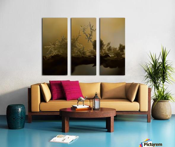 En  equilibre Split Canvas print