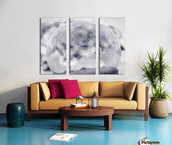 Givre Split Canvas print