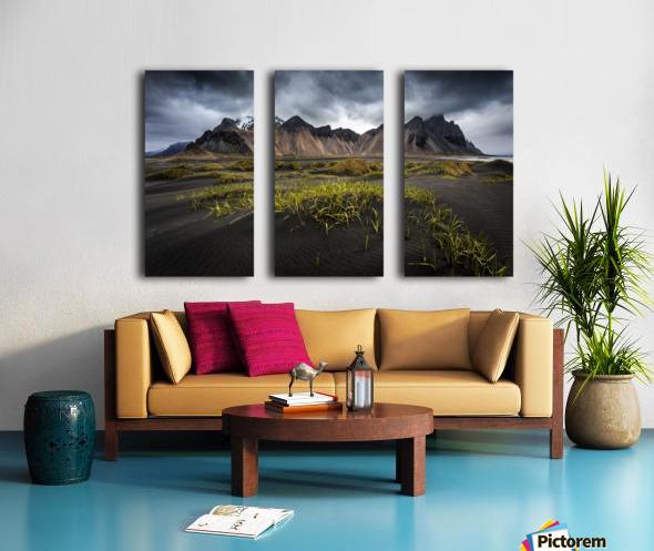 Stokksnes Split Canvas print