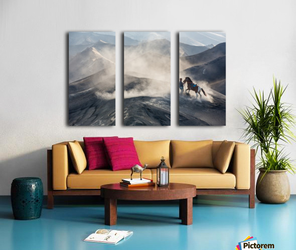 The Horseman Split Canvas print
