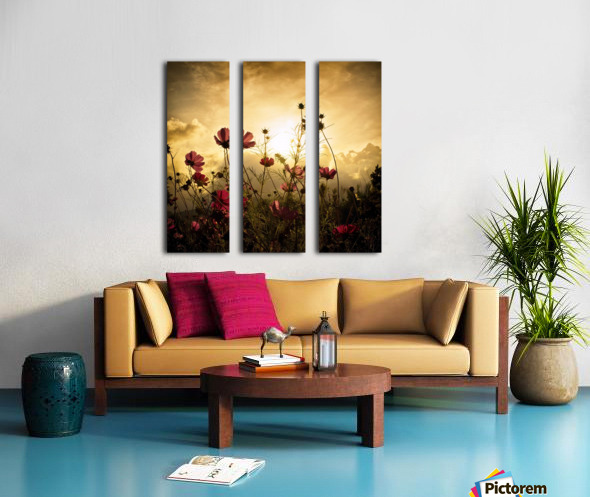 watching the sun by christian marcel 1x canvas