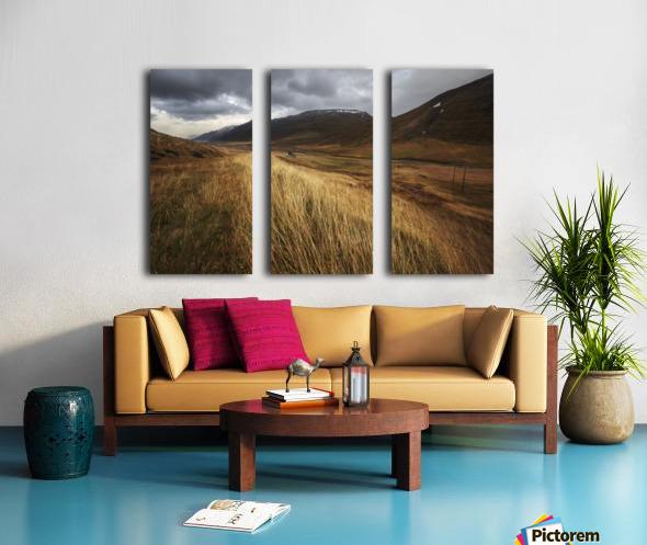 Autumnal Split Canvas print