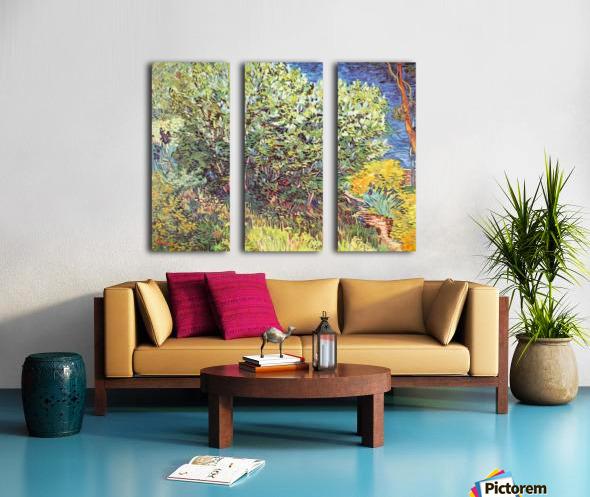 Slip Away by Van Gogh Split Canvas print