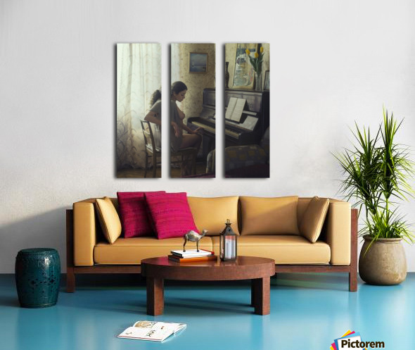 Untitled by David Dubnitskiy  Split Canvas print