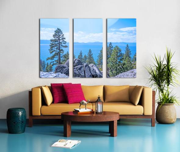 To the Horizon Split Canvas print