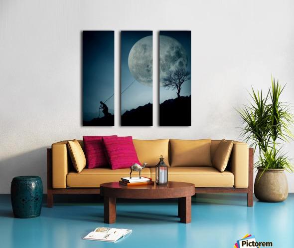 the Dreamer Split Canvas print