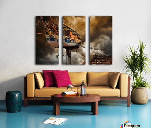 Nimfa Split Canvas print