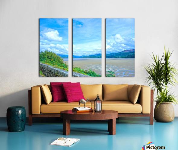 View to Forever Coastal England Split Canvas print