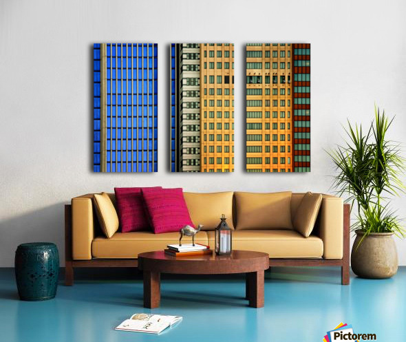 Windows on the City by So Sad Mathilde Split Canvas print