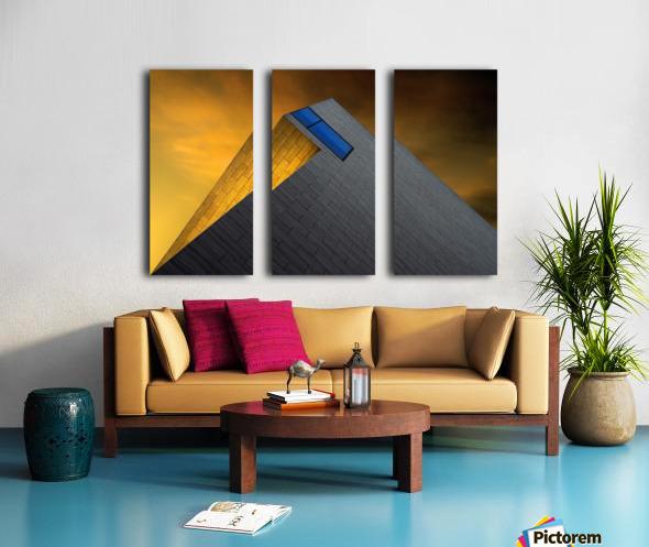 Golden Glow by Gilbert Claes  Split Canvas print
