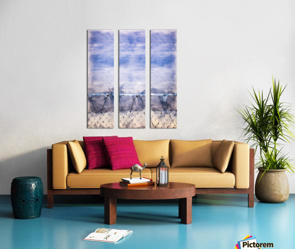 The Prisoner Split Canvas print