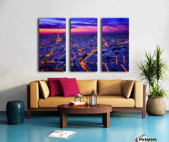 Paris I Split Canvas print