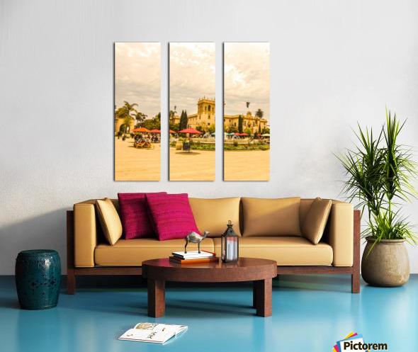 One Day in San Diego Split Canvas print