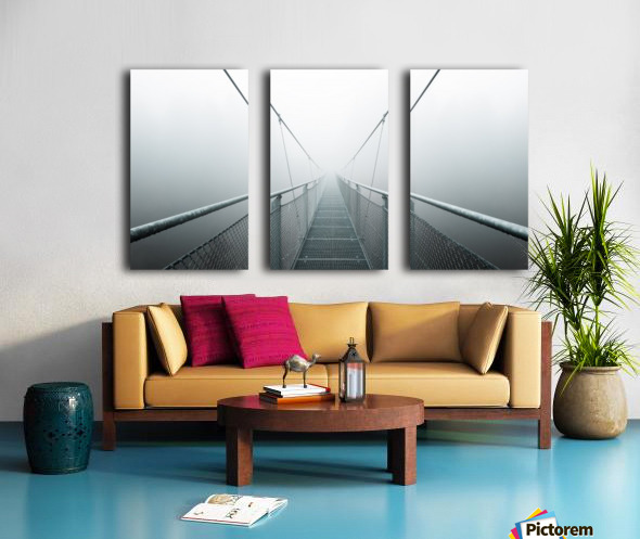 The Path to Infinity Split Canvas print