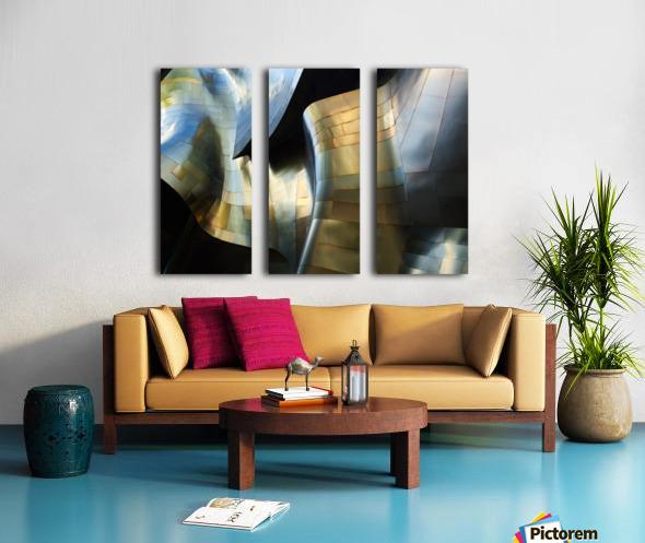 Organic Metal 3 by David Reams  Split Canvas print