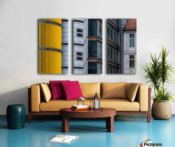 Opposite attraction III by Benjamin Brosdau  Split Canvas print