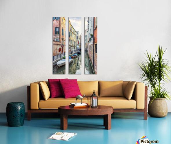 Quiet Venice Split Canvas print