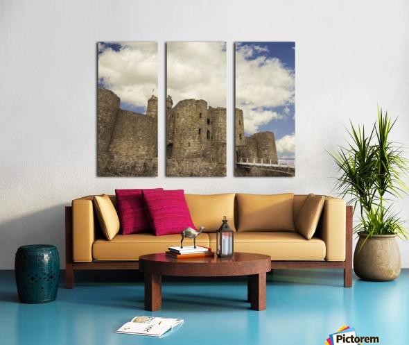 Aberystwyth Castle Split Canvas print