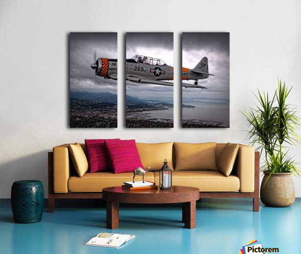 Over Under by Thomas T.  Split Canvas print