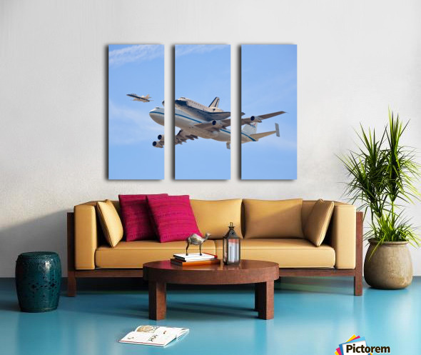 Flying into History by Andrew J. Lee Split Canvas print