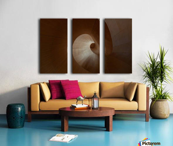 Spiral by Heather Bonadio  Toile Multi-Panneaux