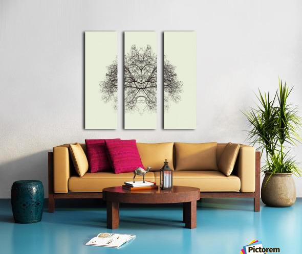 Rorschach Test by Nadav Jonas  Split Canvas print