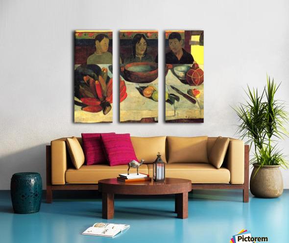 Still Life with Banana by Gauguin Split Canvas print