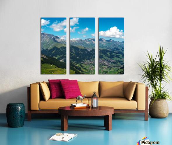 The Bernese Alps Switzerland Split Canvas print