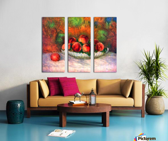 Still life with fruits Split Canvas print