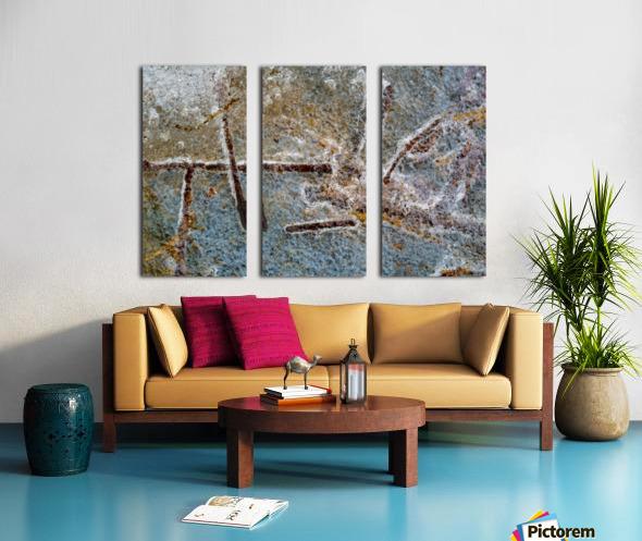 Pebble Glass ap 1998 Split Canvas print