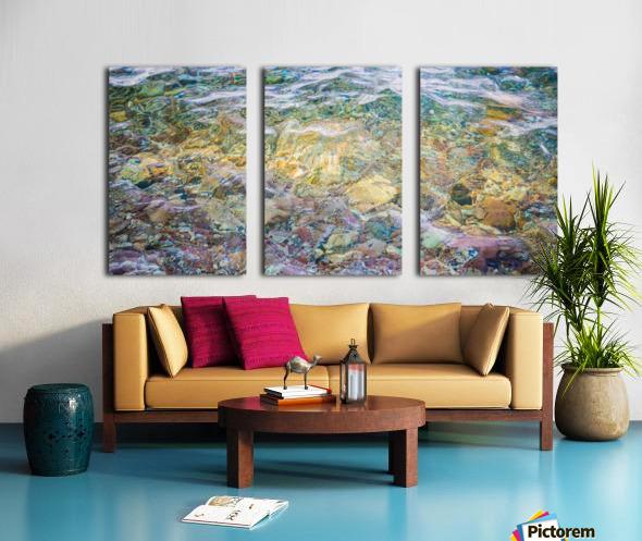 Water Colors ap 2562 Split Canvas print