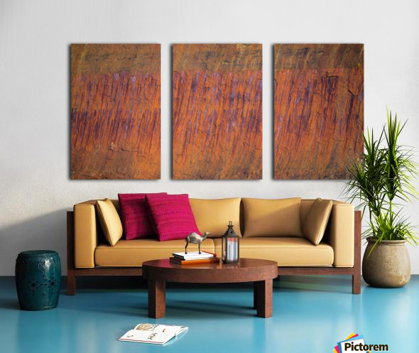 Rust ap 2510 Split Canvas print