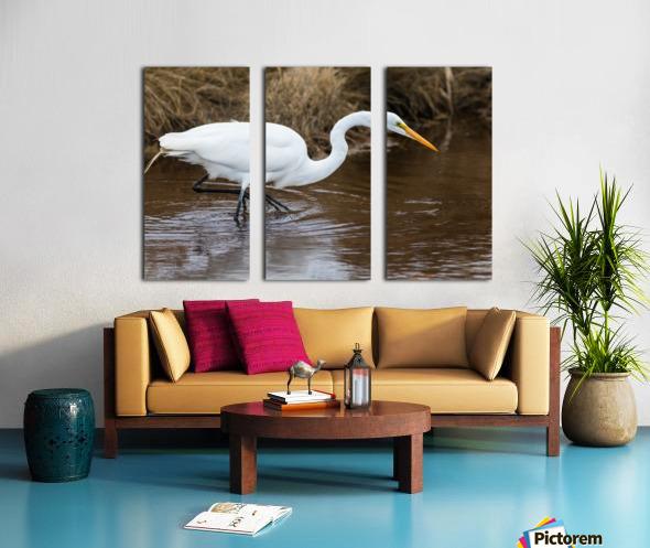 Great White Egret ap 2802 Toile Multi-Panneaux
